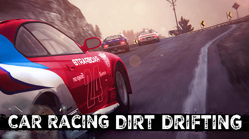 Car racing: Dirt drifting