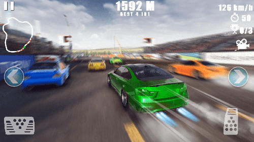 Jogue Car racing: Dirt drifting para Android. Jogo Car racing: Dirt drifting para download gratuito.