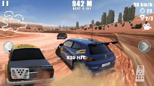 Capturas de pantalla de Car racing: Dirt drifting para tabletas y teléfonos Android.