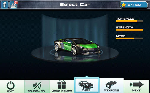 Screenshots do Car racing: Drift death race - Perigoso para tablet e celular Android.
