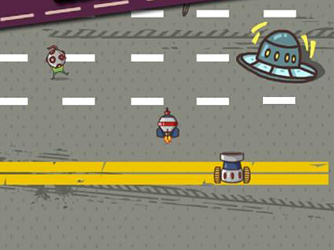 Car smash aliens screenshot 1