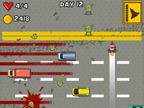 Car smash aliens screenshot 2