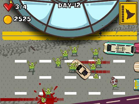 Car smash aliens screenshot 3