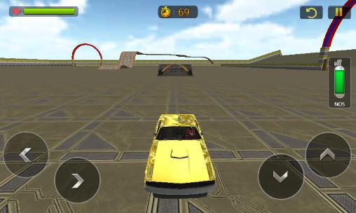 Screenshots von Car stunt race driver 3D für Android-Tablet, Smartphone.