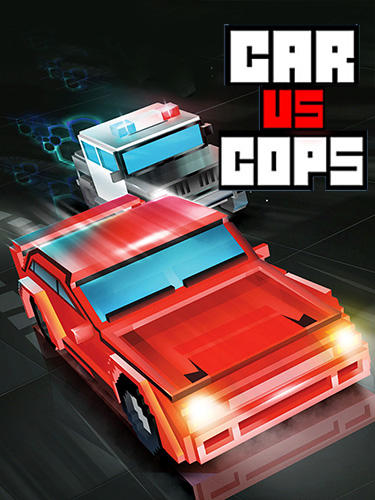 Car vs cops poster