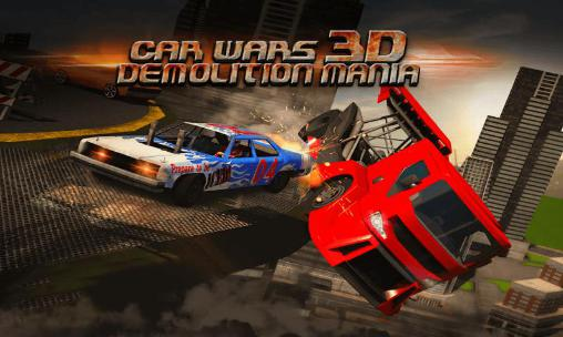 Car wars 3D: Demolition mania poster