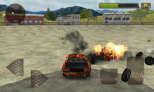 Car wars 3D: Demolition mania screenshot 2