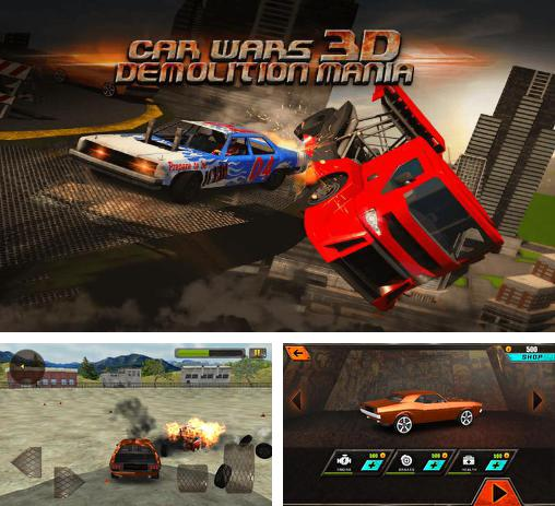 In addition to the game World of derby for Android phones and tablets, you can also download Car wars 3D: Demolition mania for free.