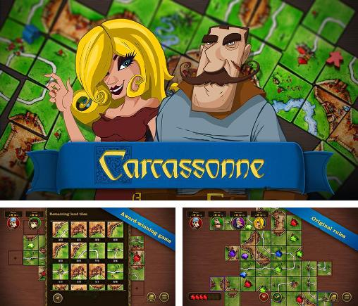 In addition to the game Ticket to Ride for Android phones and tablets, you can also download Carcassonne for free.