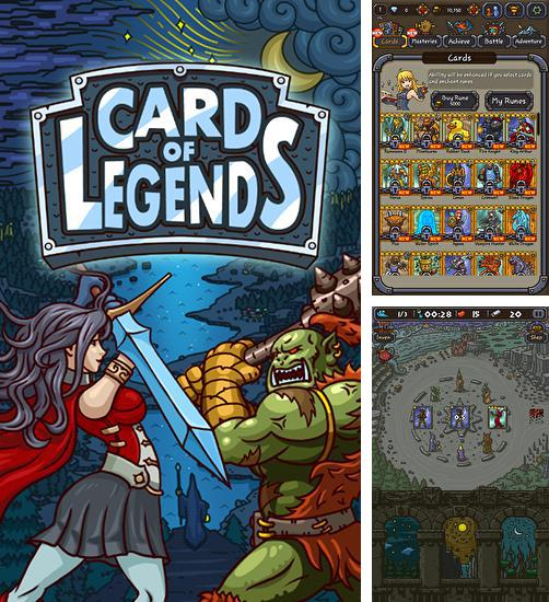 En plus du jeu Les Puissantes Oubliettes pour téléphones et tablettes Android, vous pouvez aussi télécharger gratuitement Carte des légendes: Défense accidentelle, Card of legends: Random defense.