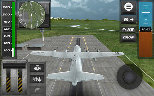 Screenshots von Cargo airplane simulator 2017 für Android-Tablet, Smartphone.