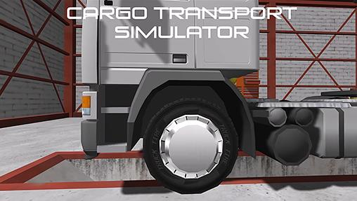 Cargo transport simulator poster