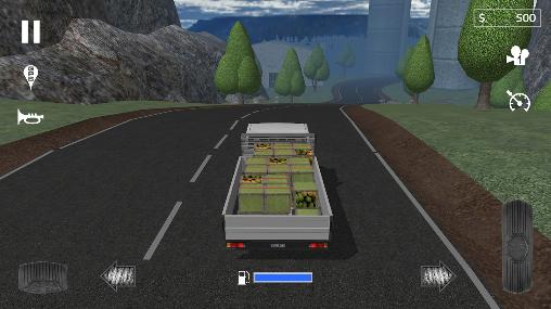 Cargo transport simulator screenshot 4