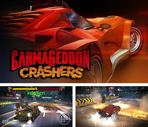 In addition to the game Fields of battle for Android phones and tablets, you can also download Carmageddon: Crashers for free.