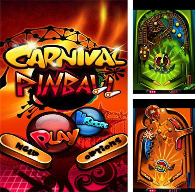 In addition to the game Monster Pinball HD for Android phones and tablets, you can also download Carnival Pinball for free.