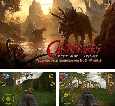 In addition to the game DinoFight for Android phones and tablets, you can also download Carnivores Dinosaur Hunter HD for free.