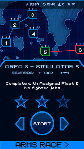 Screenshots von Carrier commander: War at sea für Android-Tablet, Smartphone.