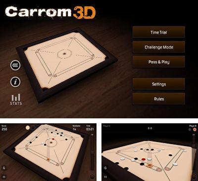 In addition to the game Quell Reflect for Android phones and tablets, you can also download Carrom 3D for free.