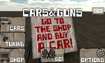 Cars And Guns 3D screenshot 1