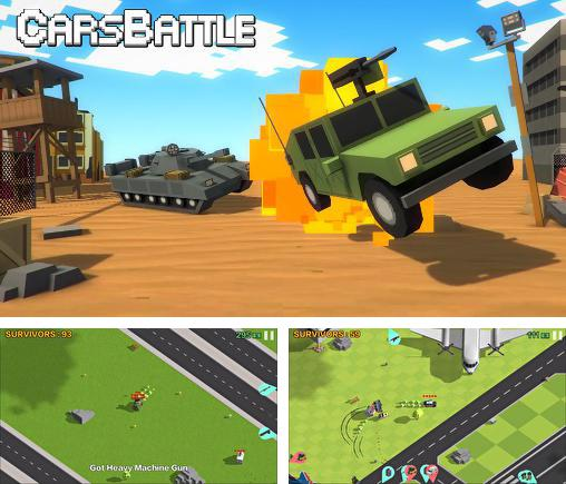 In addition to the game Gangfort for Android phones and tablets, you can also download Cars battle for free.