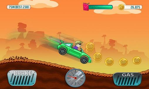 Screenshots von Cars: Hill climb race für Android-Tablet, Smartphone.