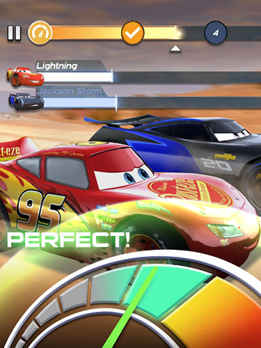 Cars: Lightning league скриншот 2