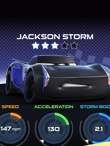 Screenshots von Cars: Lightning league für Android-Tablet, Smartphone.
