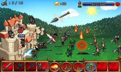 Геймплей Cartoon Defense 2 для Android телефону.