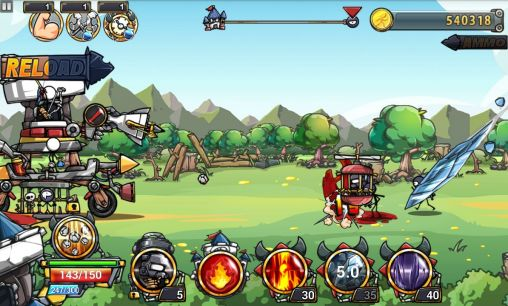 Juega a Cartoon defense 4 para Android. Descarga gratuita del juego Defensa de animados 4.