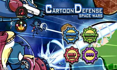 Cartoon Defense Space wars обложка