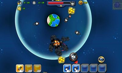 Screenshots do Cartoon Defense Space wars - Perigoso para tablet e celular Android.