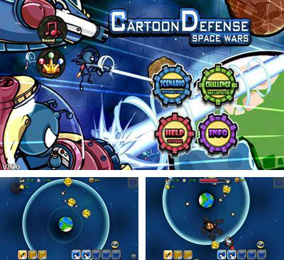 Cartoon Defense Space wars