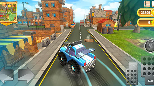 Cartoon hot racer screenshot 1