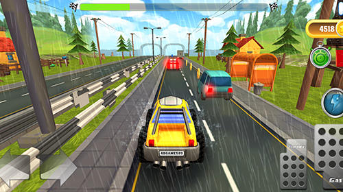 Cartoon hot racer screenshot 2