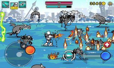 Screenshots von Cartoon Wars: Gunner+ für Android-Tablet, Smartphone.