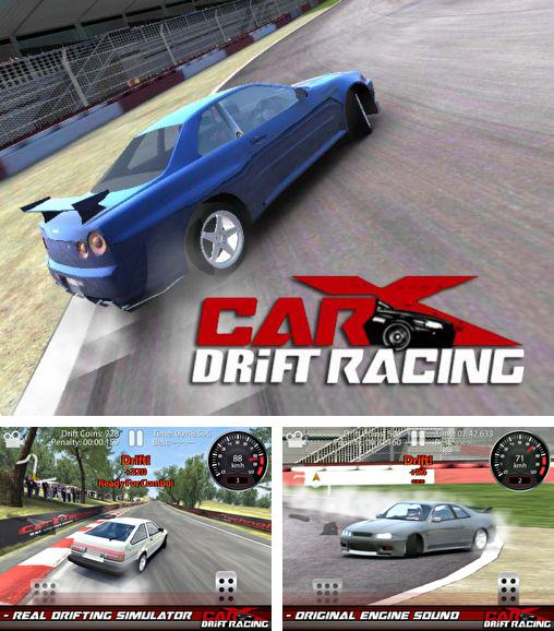 In addition to the game Muscle run for Android phones and tablets, you can also download CarX drift racing for free.