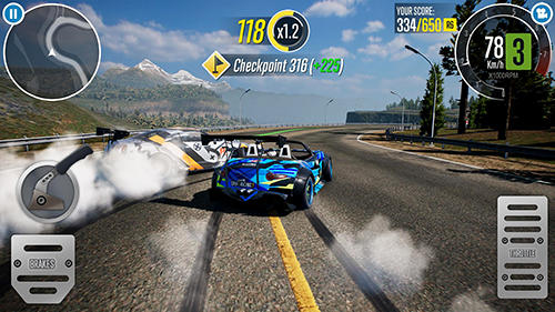 Screenshots do Drift clash - Perigoso para tablet e celular Android.