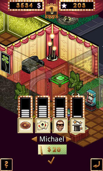 Screenshots do Casino crime - Perigoso para tablet e celular Android.