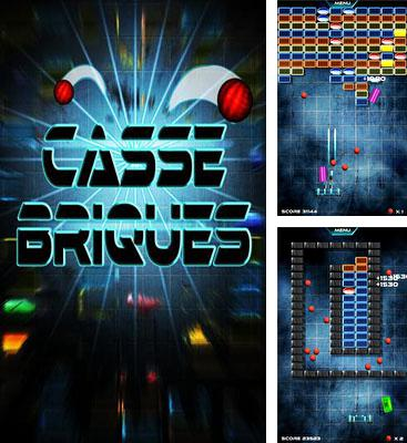 In addition to the game Jet Ball for Android phones and tablets, you can also download Casse-Briques for free.