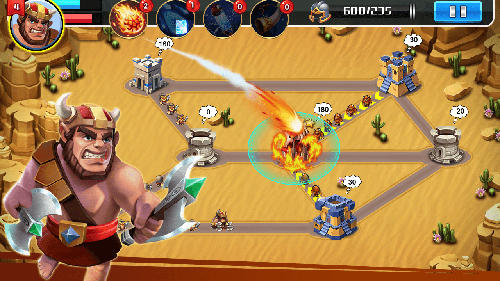 Screenshots von Little commander 2: Clash of powers für Android-Tablet, Smartphone.
