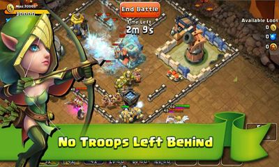 Screenshots von Castle Clash für Android-Tablet, Smartphone.