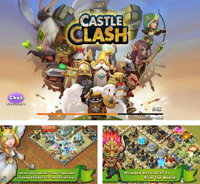 In addition to the game Clash of gangs for Android phones and tablets, you can also download Castle Clash for free.