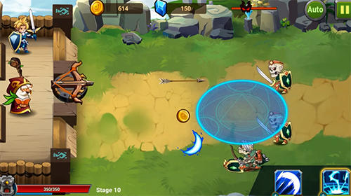 Baixe o jogo Castle defender: Hero shooter para Android gratuitamente. Obtenha a versao completa do aplicativo apk para Android Castle defender: Hero shooter para tablet e celular.