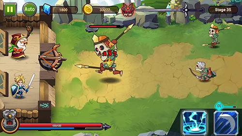 Jogue Castle defender: Hero shooter para Android. Jogo Castle defender: Hero shooter para download gratuito.