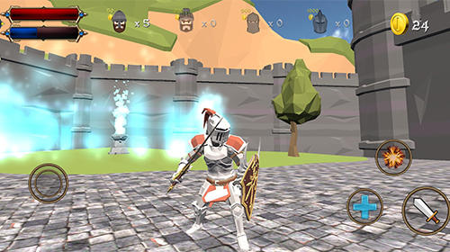 Screenshots von Castle defense knight fight für Android-Tablet, Smartphone.