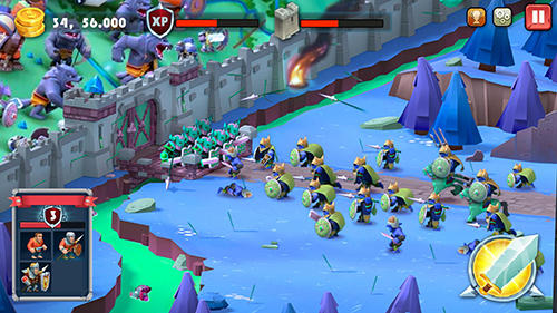 Castle defense: Soldier tower defense strategy game screenshot 4