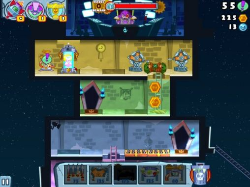 Screenshots von Castle Doombad: Free to slay für Android-Tablet, Smartphone.