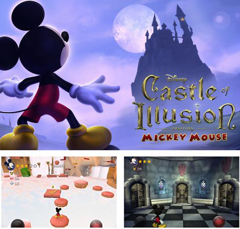 In addition to the game Rayman Jungle Run for Android phones and tablets, you can also download Castle of illusion for free.