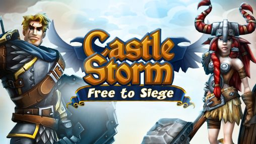 Castle storm: Free to siege poster