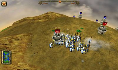 Screenshots of the Castle Warriors for Android tablet, phone.
